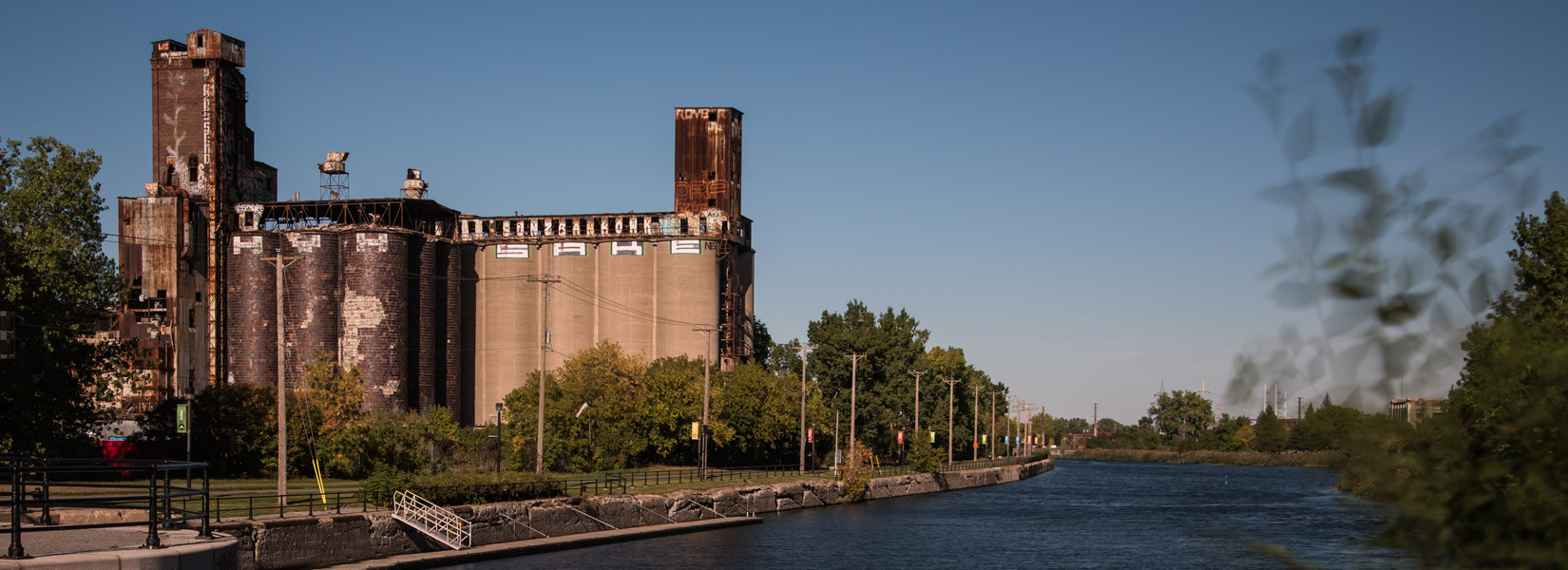 The old Canada Malting plant