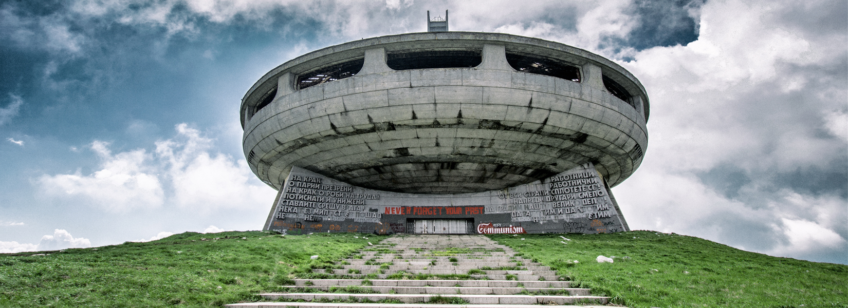The Buzludzha monument