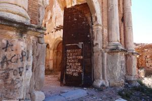 Belchite, a remnant of the Spanish Civil War