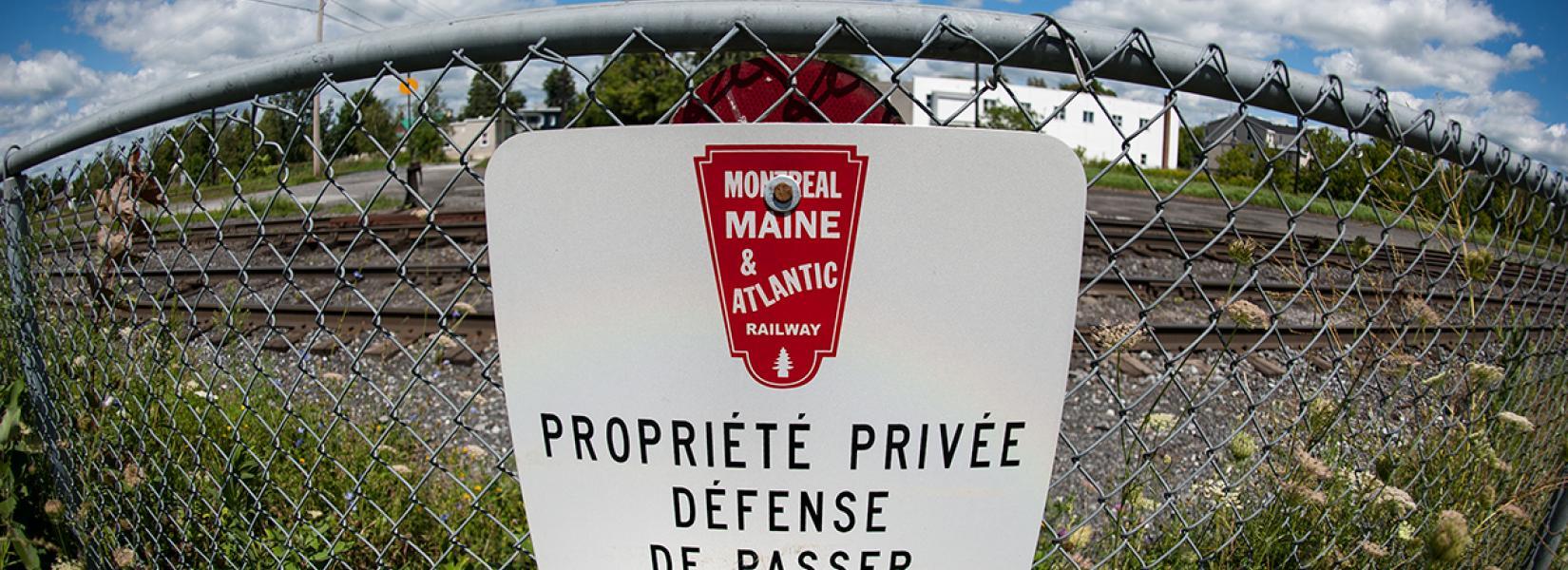 La Montreal Maine & Atlantic Railway