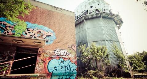 Teufelsberg : l'ancienne station de la NSA