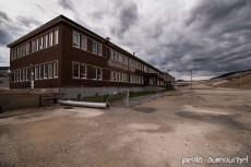La vieille fonderie abandonnée
