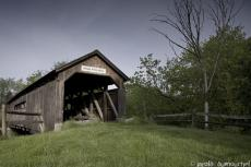 Covered bridge on the Brown river - Westford (Vermont)