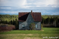 Abandoned houses in Gaspesie