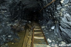 The old and abandoned mine