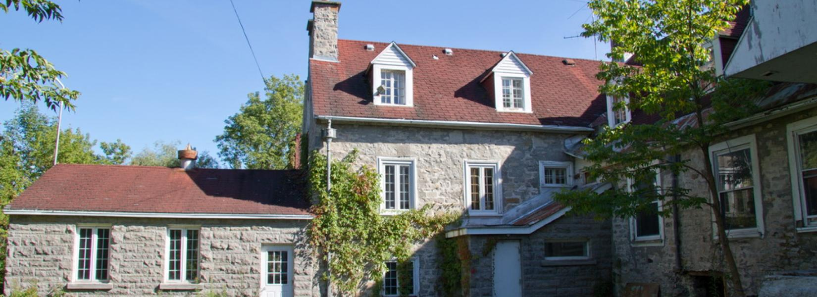 The Mascouche seigniorial mansion, the last vestige of a bygone era