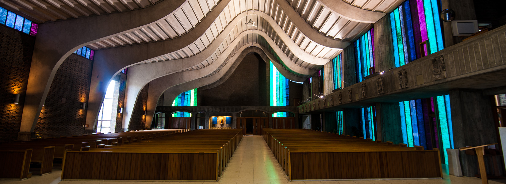 The drift of the concrete church