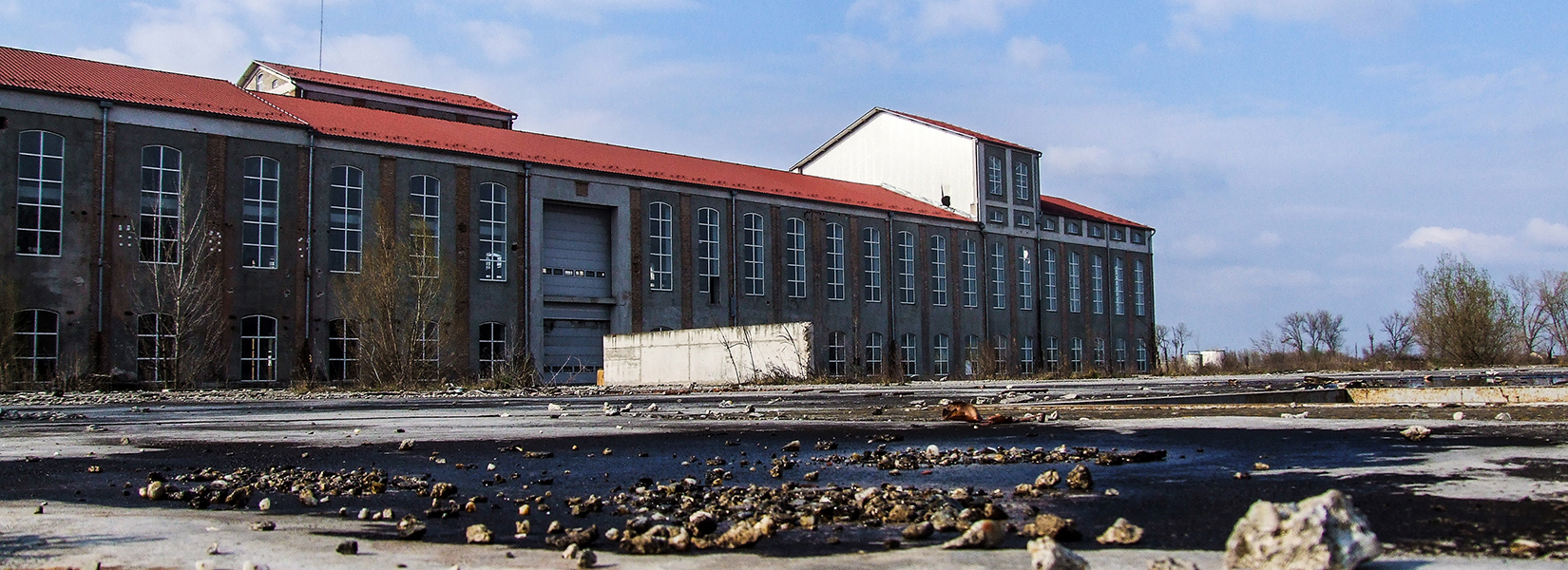 The abandoned Baranja sugar factory