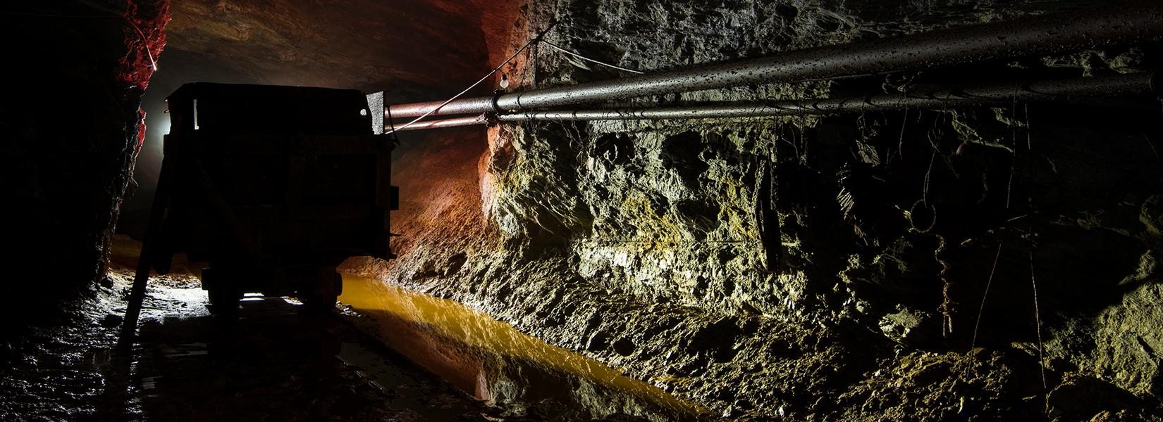 La vieille mine abandonnée