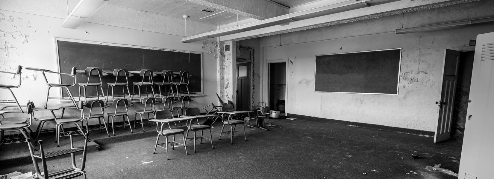 L'orphelinat abandonné