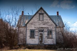 The abandoned country school