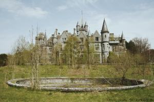 The abandoned castle of Noisy