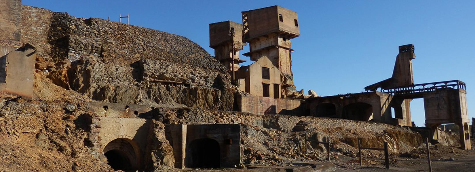 The abandoned mine of Achada do Gamo