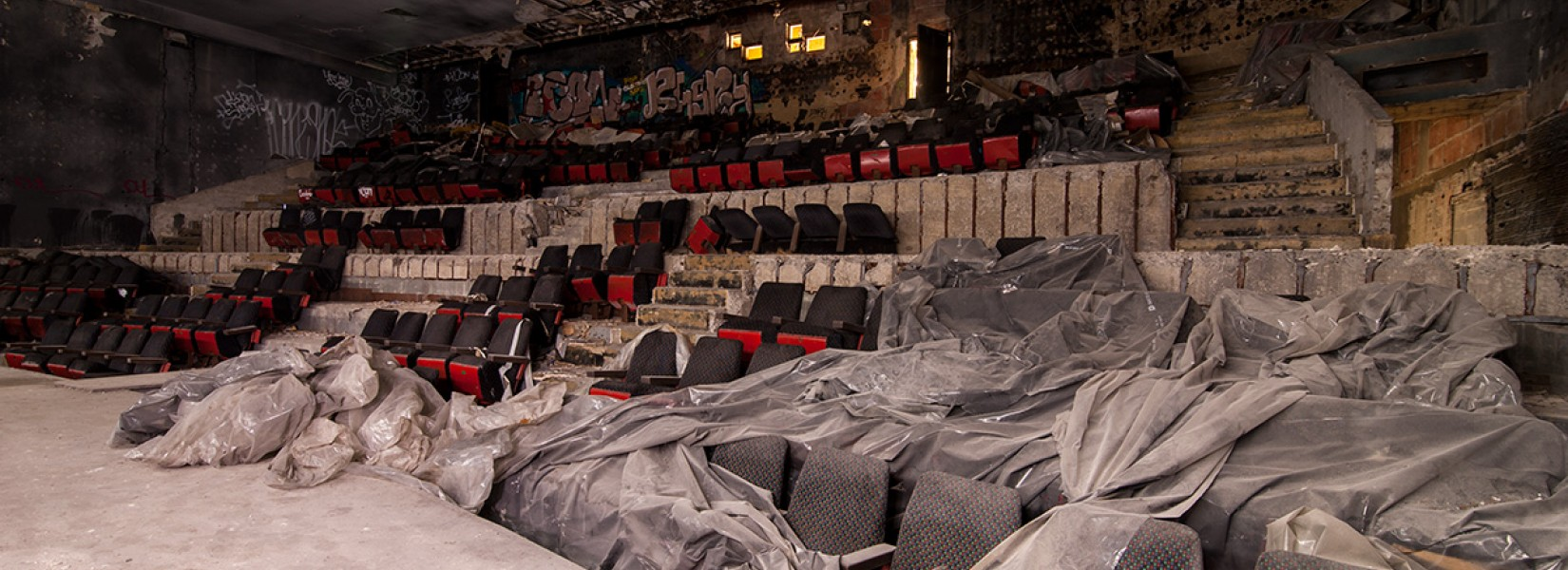 The abandoned theater