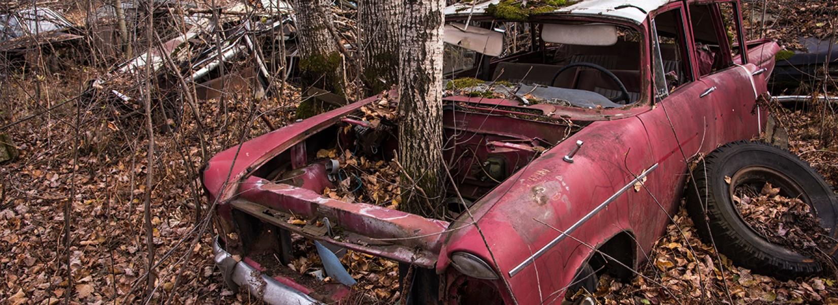 The old scrap yard