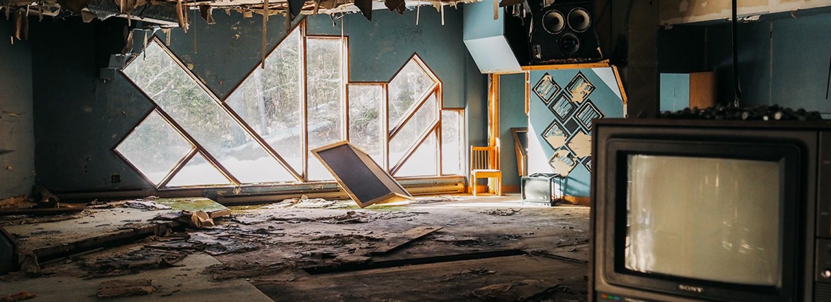 The abandoned music studio