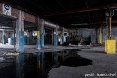 La vieille usine de carton